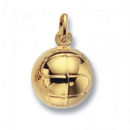 Yellow Gold Pendants -Football Large, PN265